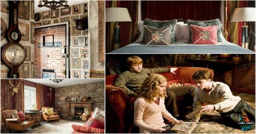 This Harry Potter Themed Apartment In Scotland Is A Treat For All Wizards And Muggles Alike